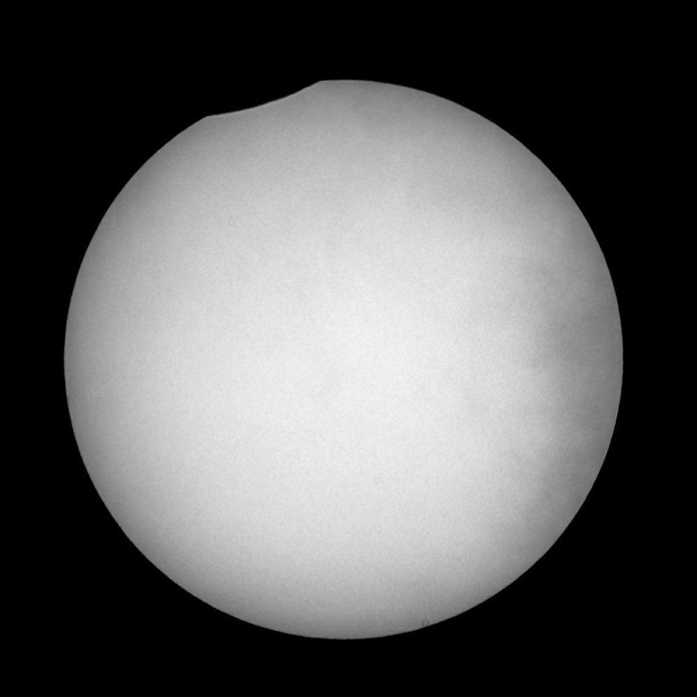 日食和超大月亮