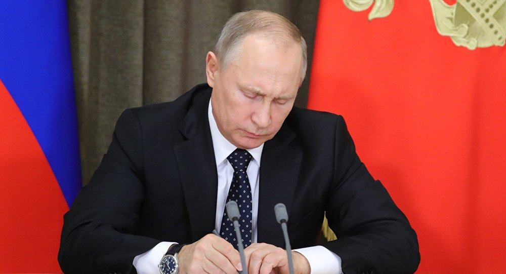 普京下令解除9名将军的职务