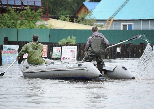 外贝加尔边疆区,洪水
