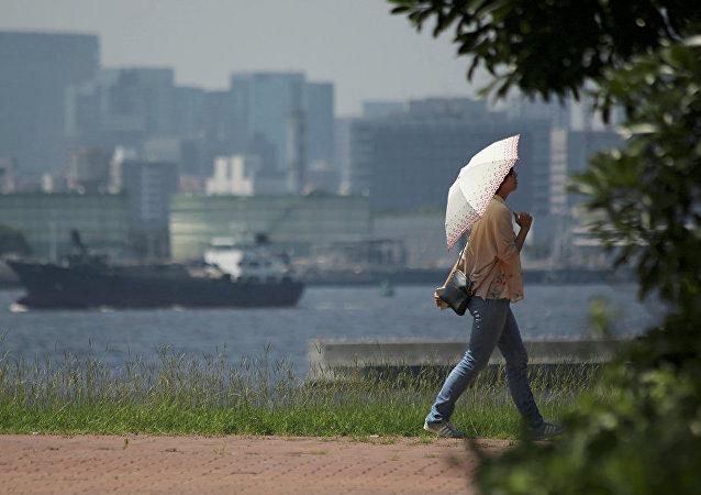 日本高温天气