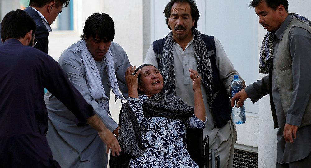 阿富汗喀布爾,2018年7月15日