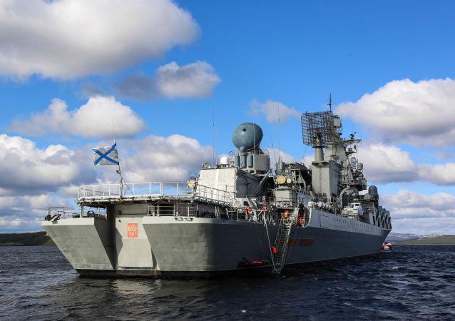 「烏斯季諾夫元帥」號導彈巡洋艦