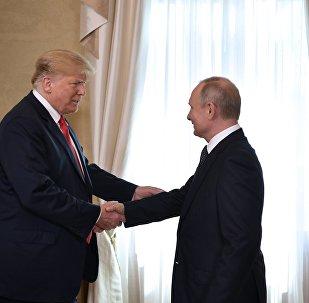 超三分之一的俄罗斯人认为普京与特朗普找到共同语言