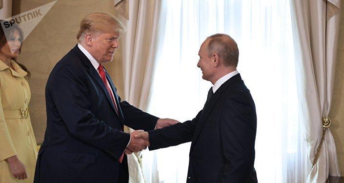 特朗普稱對普京不是過於客氣而是外交態度