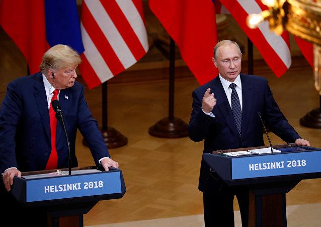 俄羅斯總統普京表示,俄羅斯向美國遞交了關於戰略穩定和不擴散方面的合作建議。