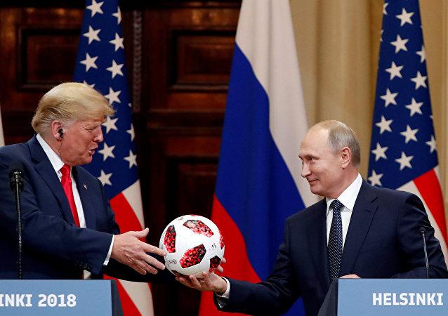特朗普希望美國主辦世界杯不次於俄羅斯