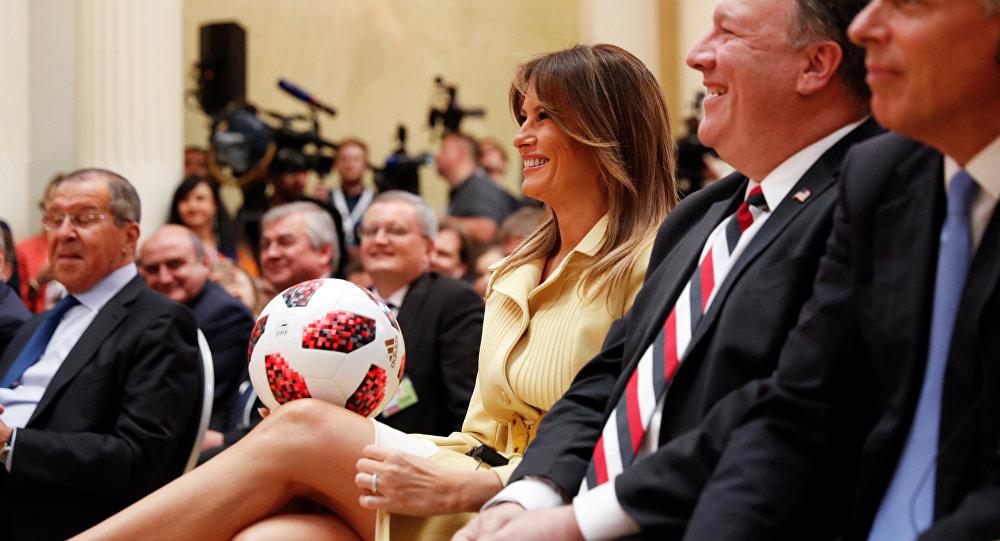 特朗普希望美国2026年举办的世界杯不逊于俄罗斯