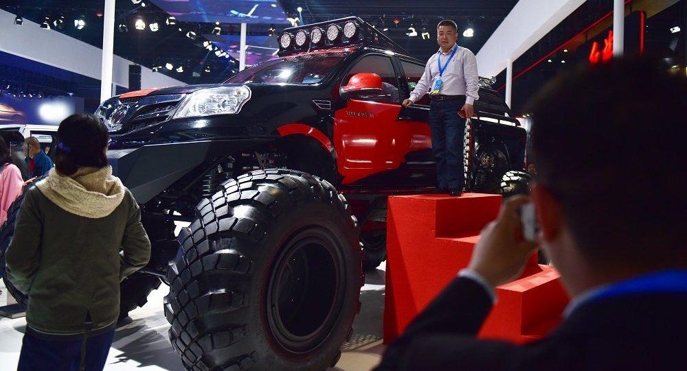 """福田公司即将在俄生产""""拓陆者""""皮卡"""