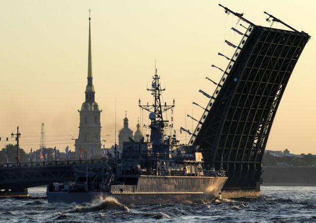 43艘軍艦和41架航空器將參加聖彼得堡海上閱兵 中國亦派軍艦參加