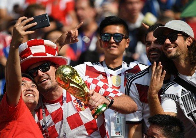 2018世界杯期间有2万多球迷参加莫斯科免费游览活动