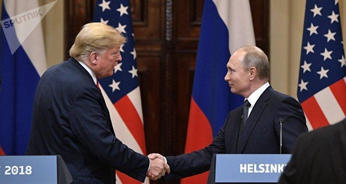 特朗普在CNBC的采访中表示,正在研究与普京举行第二次会晤的问题