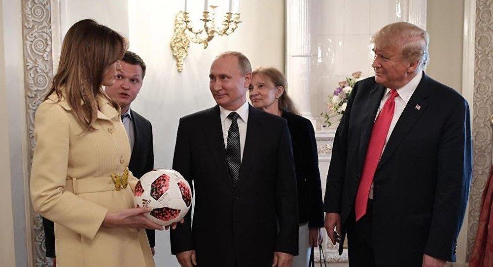 眼神外交:美国第一夫人和俄罗斯外长眼神引热议