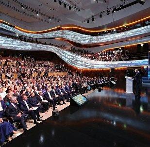 普京:很高兴世界杯来宾享受在俄时光