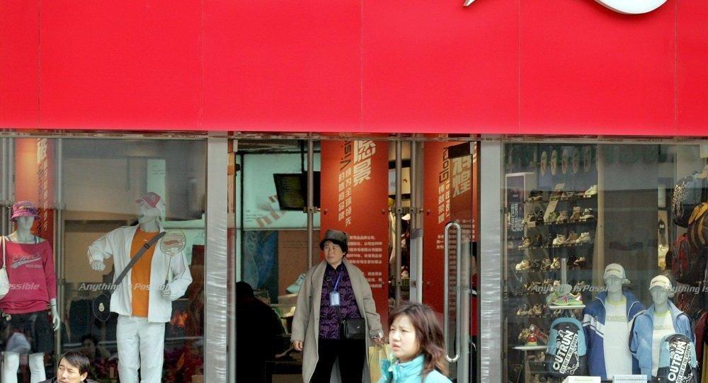 中國體育用品生產商李寧