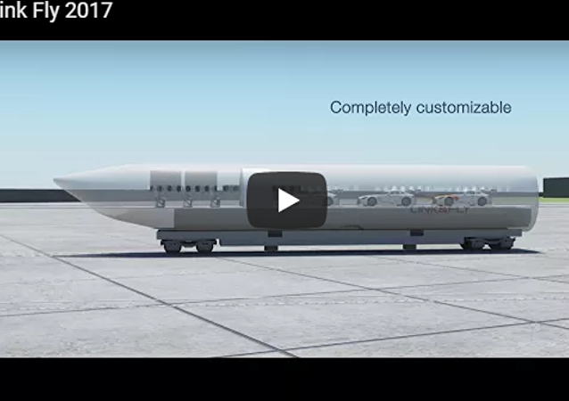 「飛機+火車」!法國公司公佈「Link & Fly」設計