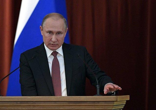 普京:明斯克協議仍是調解烏克蘭東部局勢的基礎