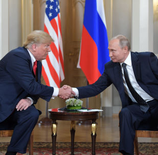 特朗普称与普京建立了关系