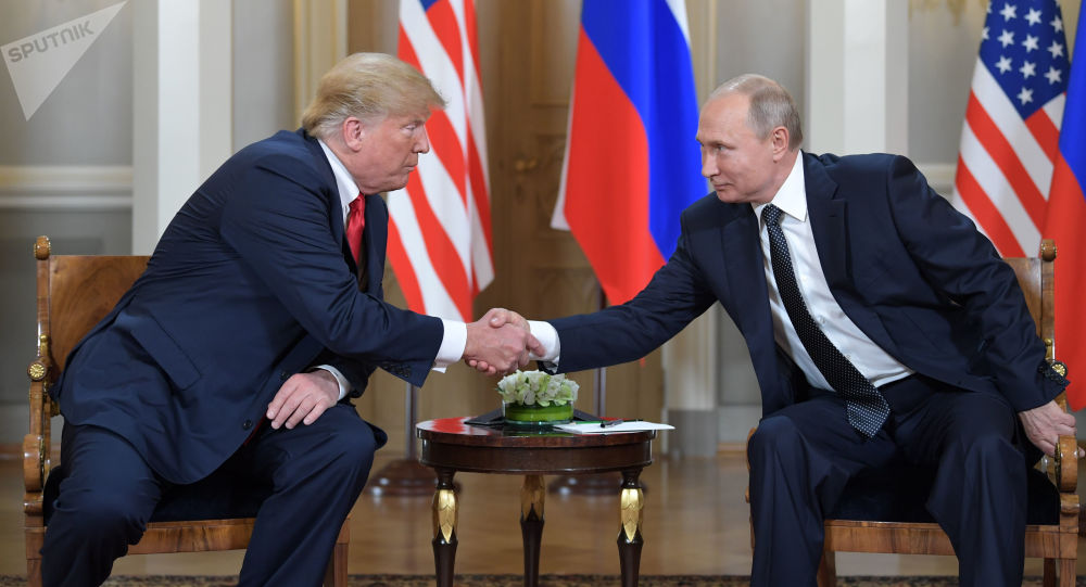 特朗普称与普京在赫尔辛基会晤时未作出让步