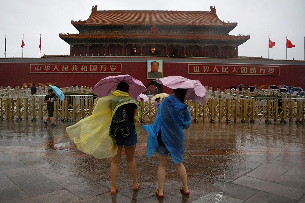 """这个星期,北京的主题词是""""雨"""""""
