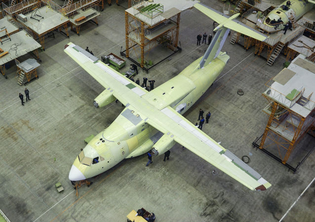 伊尔-112V型飞机