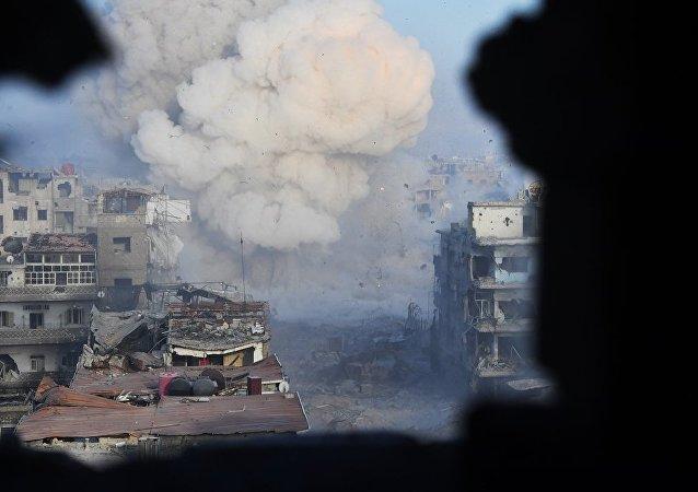 叙数千武装分子同意离开库奈特拉并前往伊德利卜