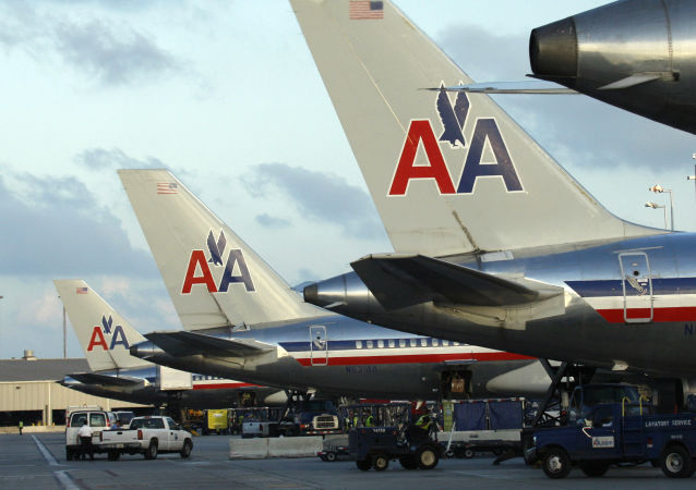 美国航空客机