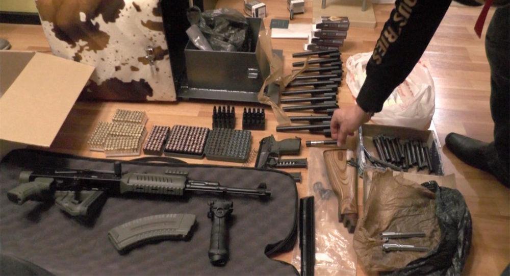 俄安全局開展清查自歐盟走私槍支的行動