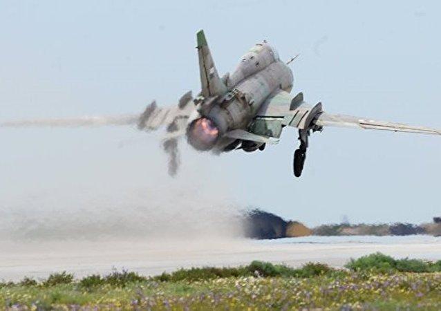 以軍擊落一架敘空軍 「蘇霍伊」飛機