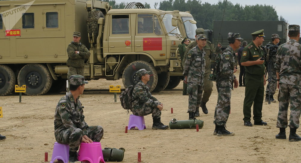 國際軍事比賽前6天成績揭曉 俄中兩國領先