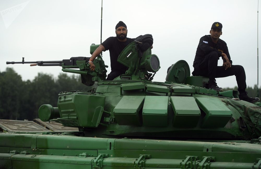 備戰「坦克兩項-2018」