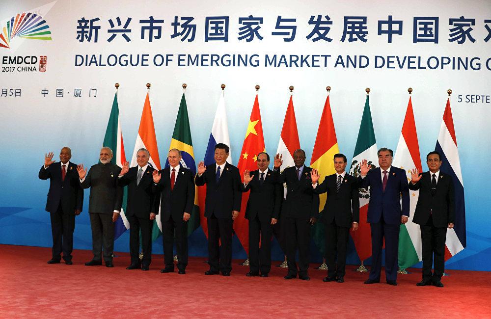 金磚國家領導人第十次會晤