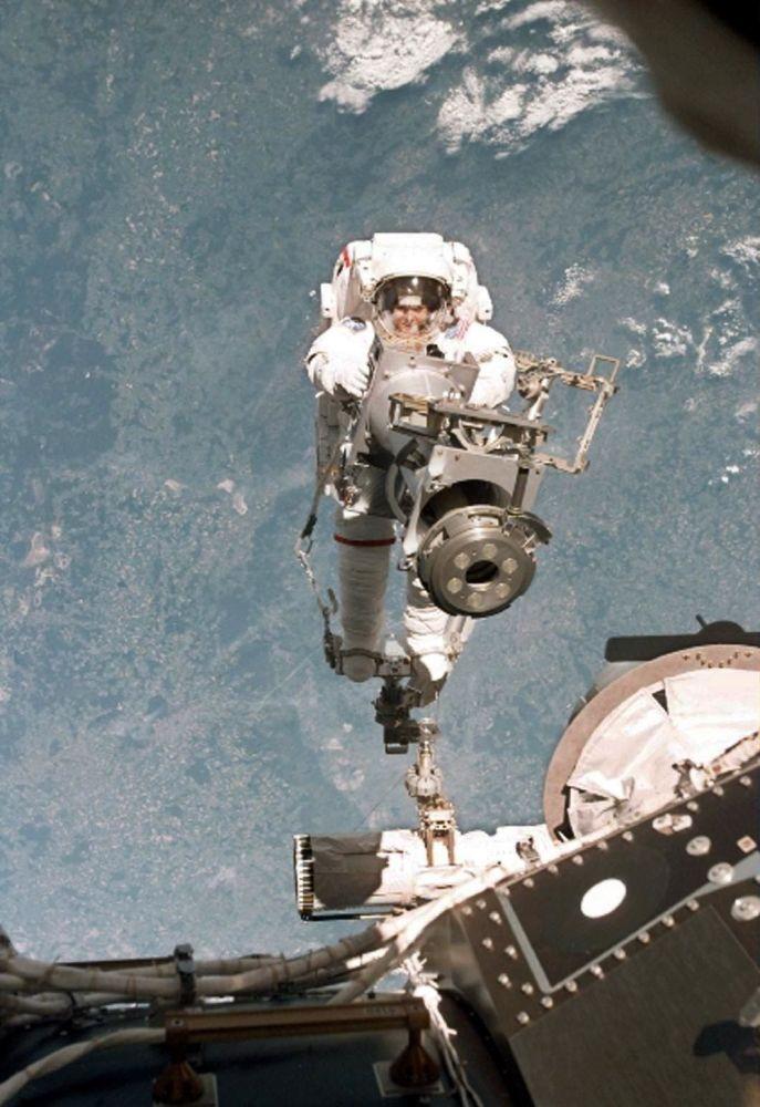 美国科学家、美国国家航空航天局前宇航员塔玛拉∙杰尼根。