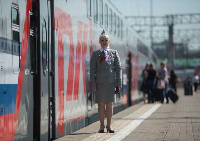 「俄鐵」利用旅客列車6日內將貨物從北京快運至莫斯科