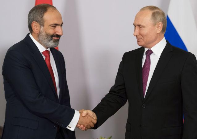 亞美尼亞總理認為普京是個直率真誠的人