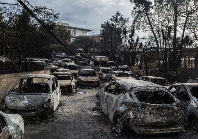塞浦路斯拨款1000万欧元援助希腊火灾灾民