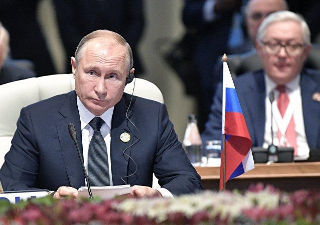 俄總統普京稱希望在俄羅斯開設金磚國家新開發銀行辦公室