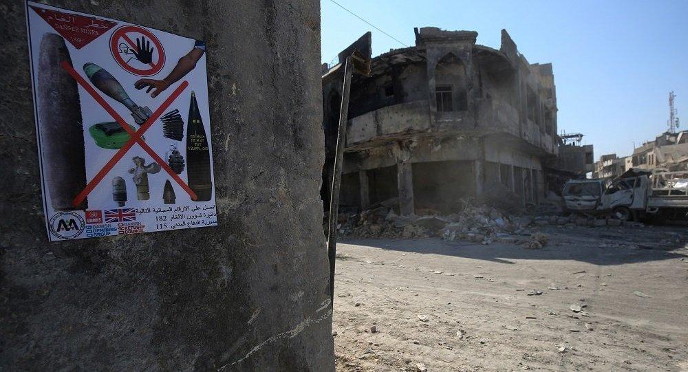 聯合國:巴黎為幫助伊拉克排雷撥款50萬歐元