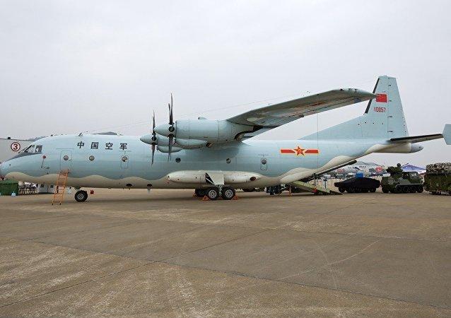 中國軍機飛過韓國防空識別區域