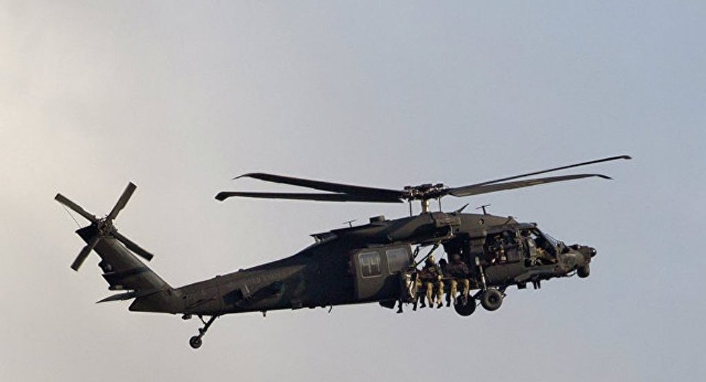 美军直升机