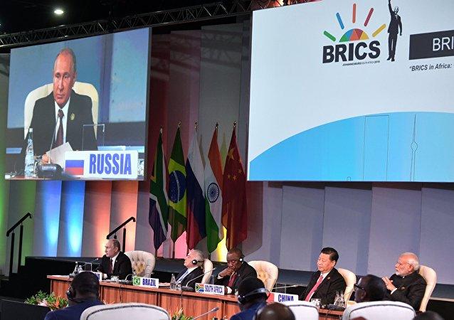 普京表示,金磚國家暫時不會擴容