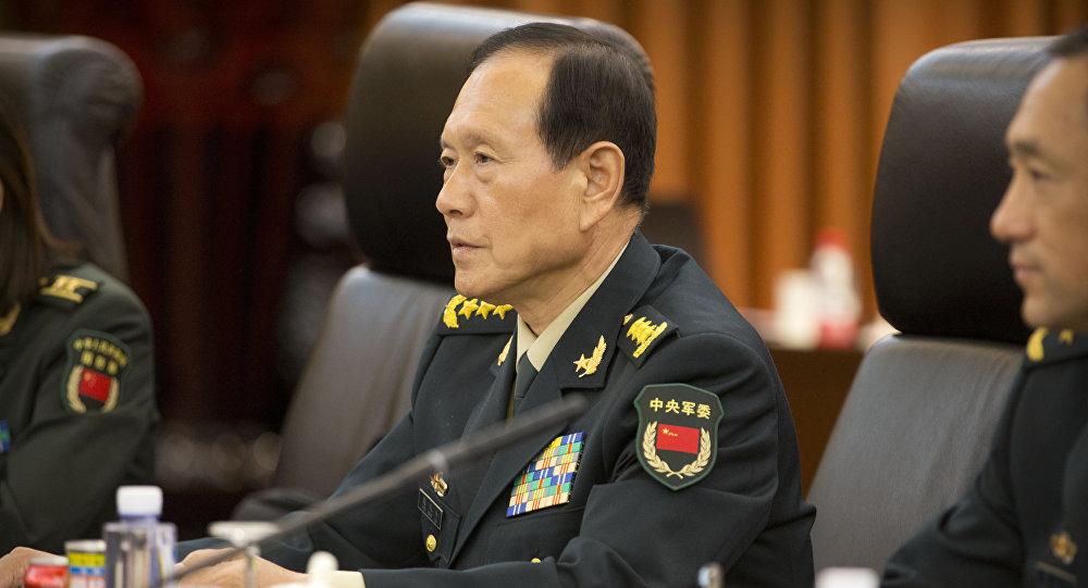 中国防长离京访美并出席第二轮中美外交安全对话