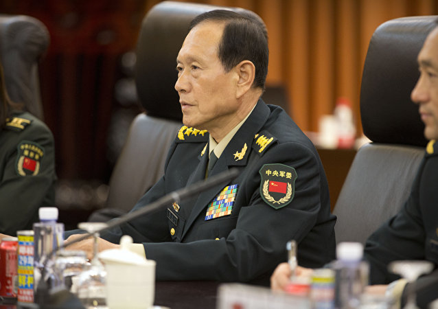 中國防長離京訪美並出席第二輪中美外交安全對話