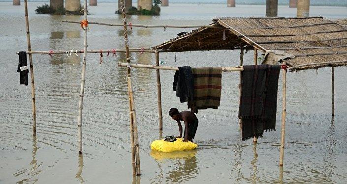 印度北部季风降雨造成近50人死亡