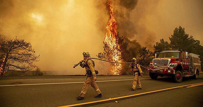 美国加州森林火灾