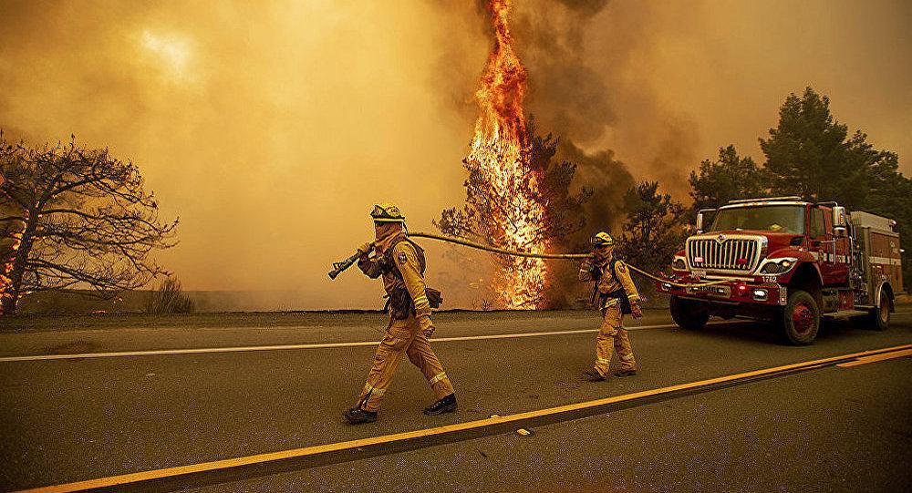 美國加州森林火災