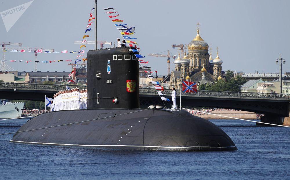 俄羅斯海軍節主閱兵式在聖彼得堡和喀琅施塔得港舉行