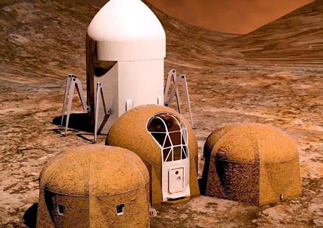 NASA火星栖息地设计大赛决赛作品发布