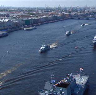 俄罗斯海军节阅兵