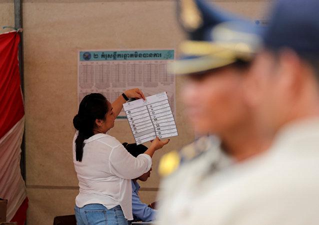柬埔寨选举