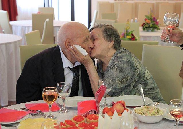 老年人婚禮